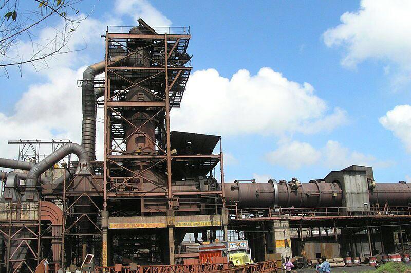 نتیجه تصویری برای مجتمع ذوب آهن بیستون کرمانشاه